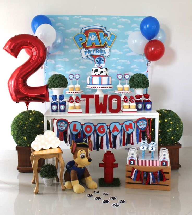Paw Patrol Birthday Party Ideas | Photo 1 of 20