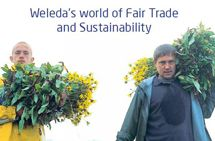 Weleda - Fair Trade, Sustainable & Organic skincare. I love this brand, I have more of their products than any others.