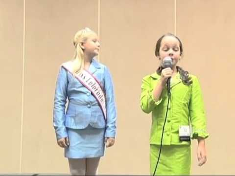 Personal Introduction Example - National American Miss Pageant (State Level)