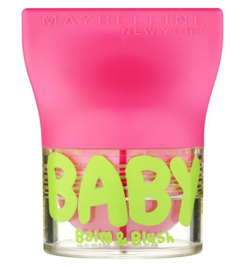 Maybelline Baby Lips Balm and Blush Flirty Pink - Boots                                                                                                                                                      More