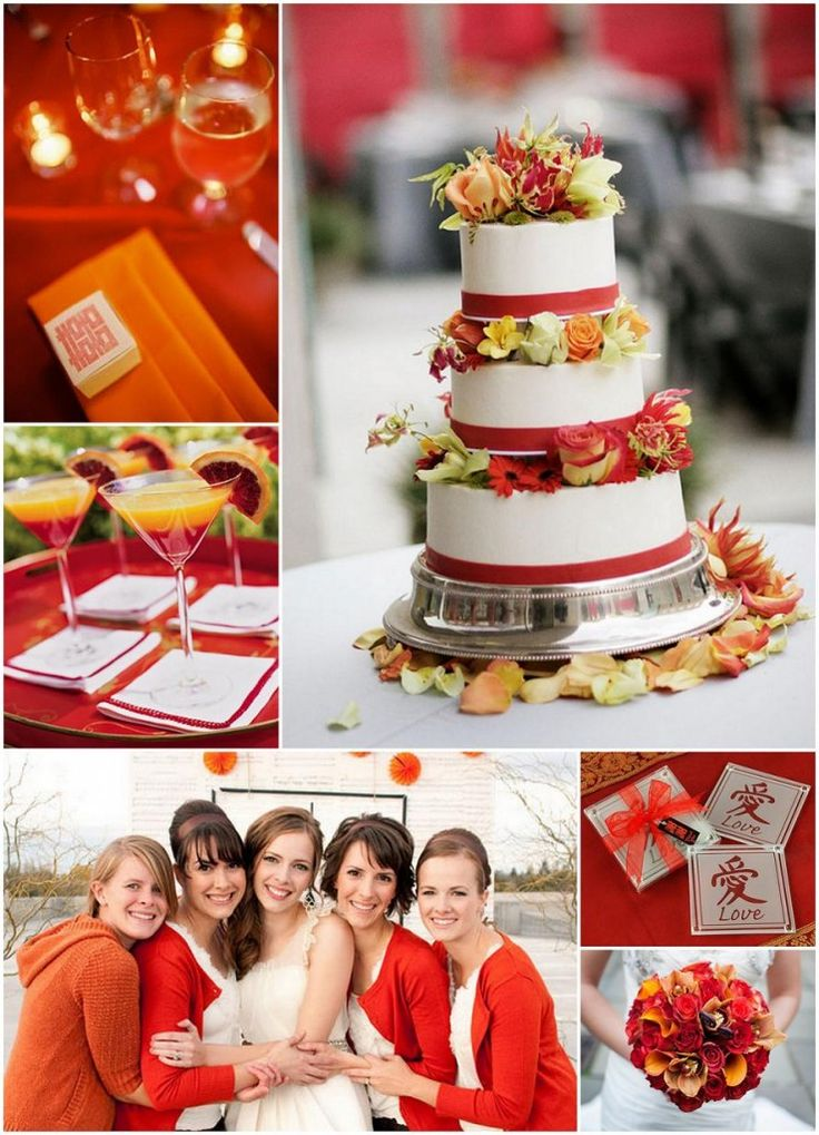 """Love this cake!! And, these cardigans are so, my, """"friend""""....: Ideas Wedding, Wedding Themes, Burnt Orange Weddings, Wedding Ideas, Asian Inspired Weddings, Cake Ideas, Wedding Colors"""