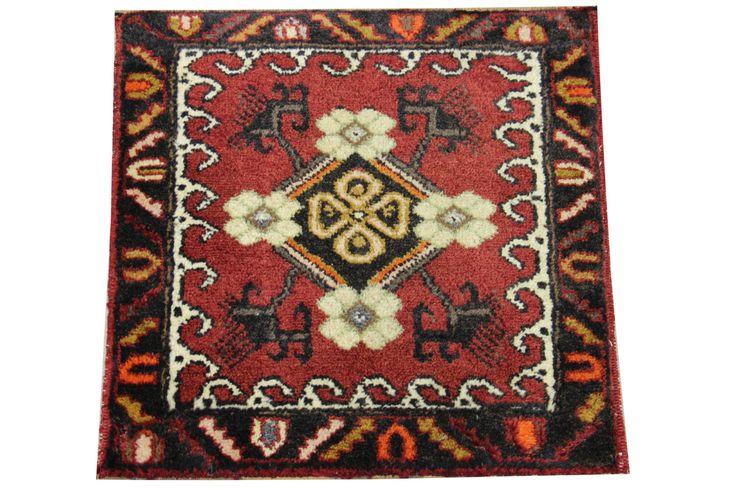 Doormats Turkish rugs handmade 1,9 x 1.8 Feet Decorative pattern bathmats Small size rugs Boho Rug Handwoven rug natural dye wool rug HY-30 by stripepattern on Etsy