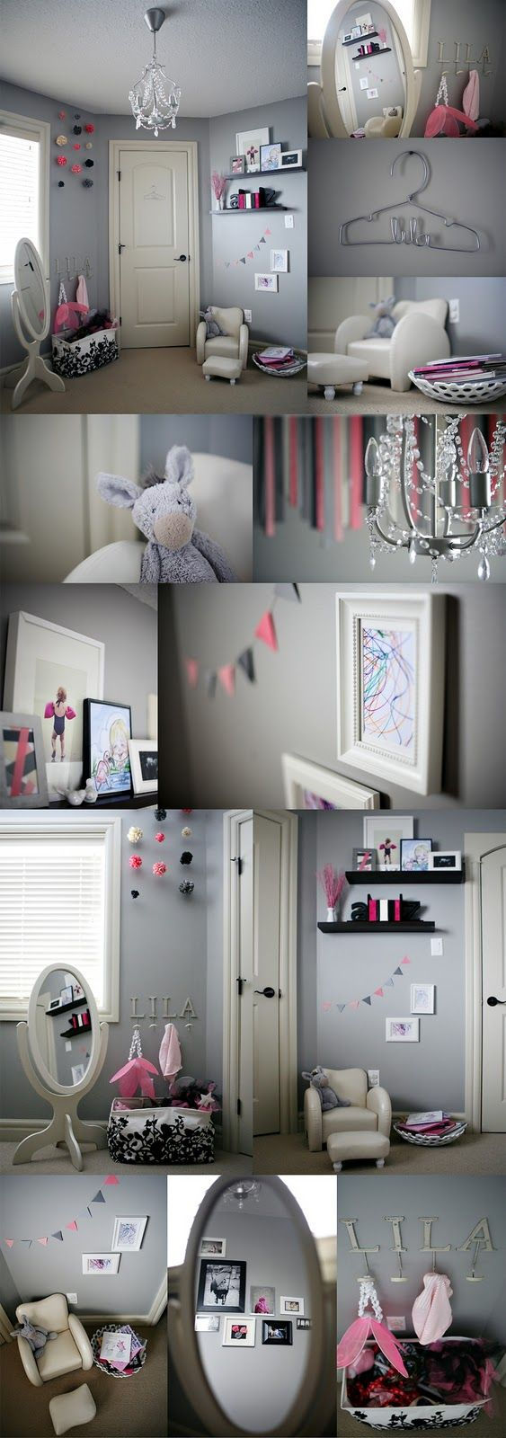 Blue Ribbon Studio: Little Girl's Room....(via Pink Sugar Photography)