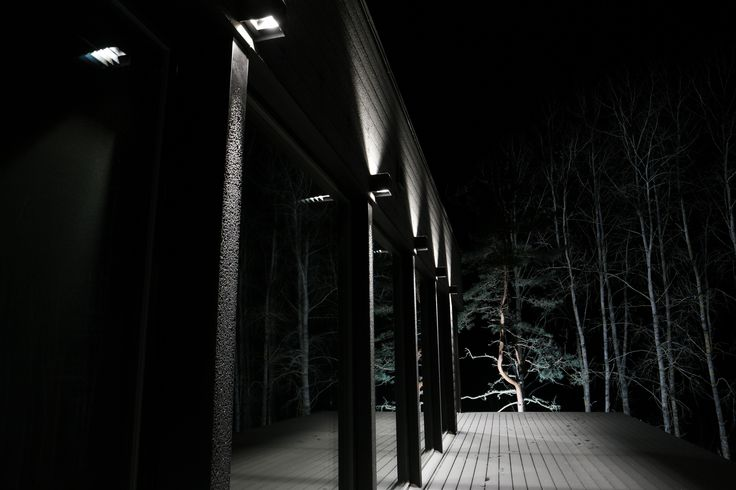 Impressive outdoor lighting with Winled's Hydra LED -lights. Näyttävä ulkovalaistus Winledin Hydra LED-valaisimilla.