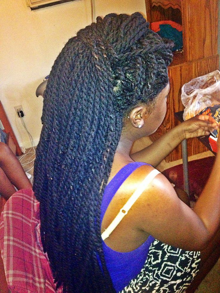 Yarn twists: Box Braids, Braids Twists, Yarn Braids Hairstyles, Braids ...