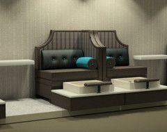 houzz salon decor | Design ideas for a nail bar and beauty salon. - Houzz