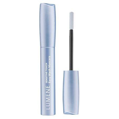 Lumene Sensitive Touch Easy Wash Mascara 1 Deep Black // Jag tycker: den håller sitt löfte//