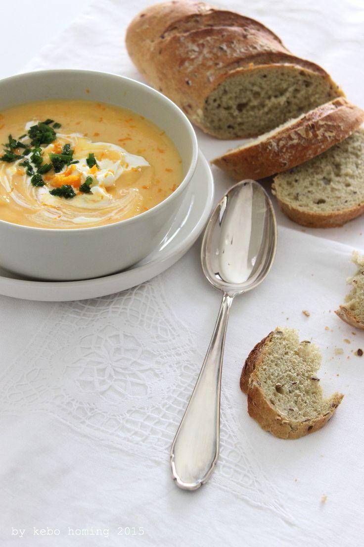 Karotten-Kartoffel-Cremesuppe... was Warmes... Seelenfutter...
