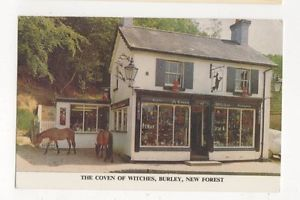 The-Coven-Of-Witches-1969-Burley-New-Forest-Postcard-671a