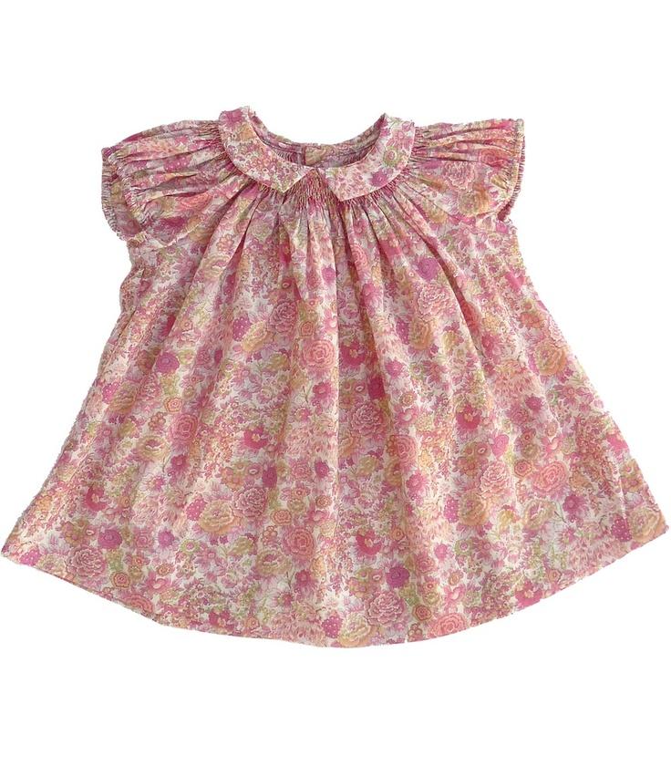 Marie Puce: Mariette Liberty dress