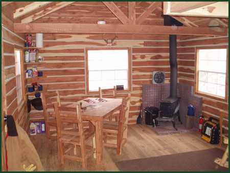 118 best inside tiny cabins houses images on pinterest for Pictures of small hunting cabins