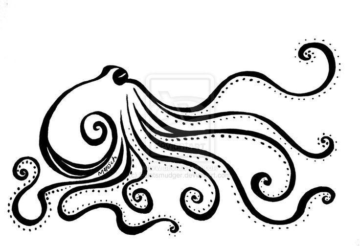14 best images about mehndi on pinterest peacocks henna for Simple octopus drawing