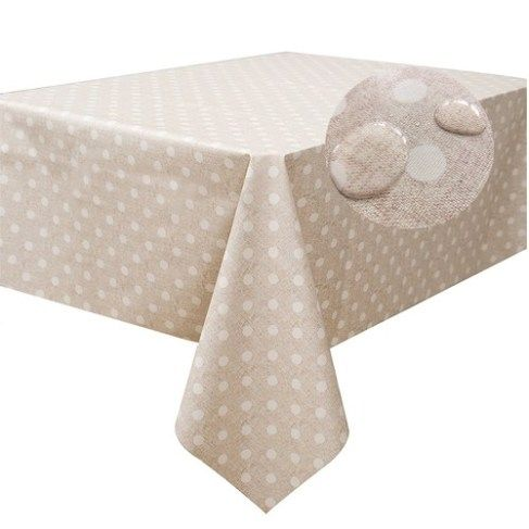 Spices PVC Vinyl Wipe Clean Oilcloth Tablecloth