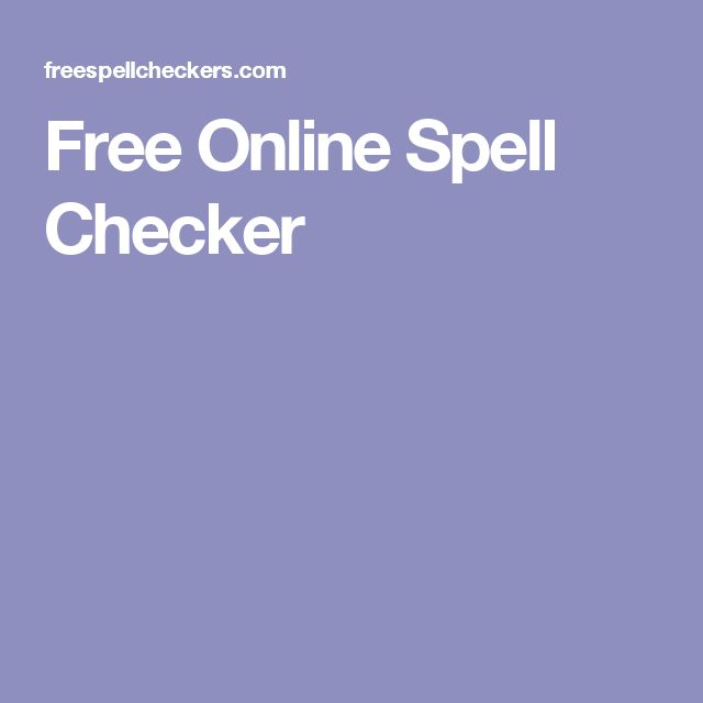 25+ best ideas about Spell Checker Free on Pinterest Gramática - spell resume