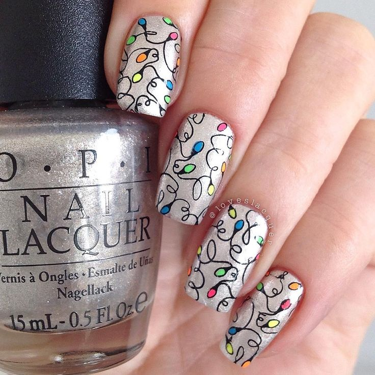 The 28 Best Winter Holiday Nails Images On Pinterest Holiday Nails