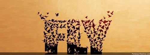 Volar. Volar y dejar atrás los pensamientos. Dejar la mente en blanco, y volar, hacia otro lugar. Real, inexistente. No tiene importancia. Crear en la imaginación un lugar donde refugiarse de toda esta hipocresía, falsedad, dolor y tristeza que nos rodea.