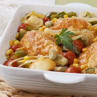 Chicken Brunswick Stew with Roasted Garlic: Main Image