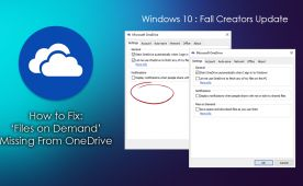 OneDrive Files On-Demand is a newly added feature to Microsoft OneDrive that comes with the Windows 10 Fall Creators update. Unfortunately, for a lot of Windows 10 users who have updated already, the Files On-Demand feature is strangely missing… Thankfully we've got the solution to fix it right here.  ✅ #onedrive #FallCreatorsUpdate #windows +Downloadsource.net