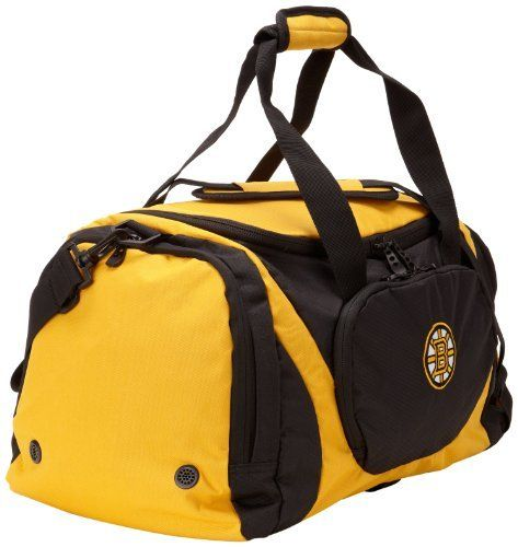 """NHL Boston Bruins Two Color Duffle Bag by adidas. Save 25 Off!. $20.95. Get The New 22"""" Two Color Duffle Bag By Adidas"""
