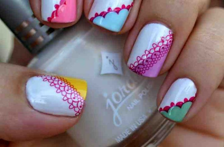 Summer Nail Design – 25 Ideen für verspielte Fingernägel #design #fingernails #ideas #playful #summer