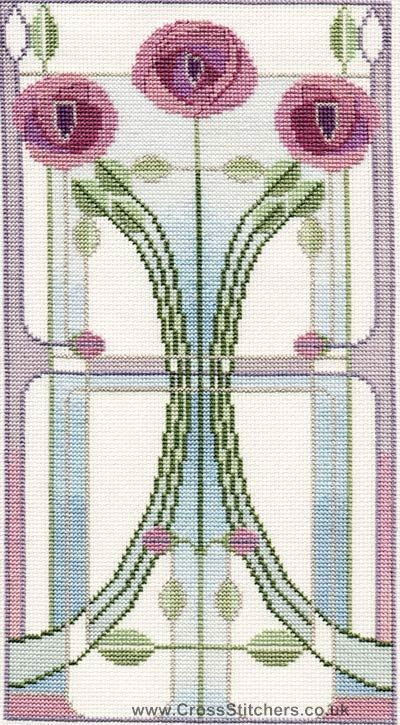 Art Deco / Nouveau - Mackintosh Wedding & Anniversary Sampler ...