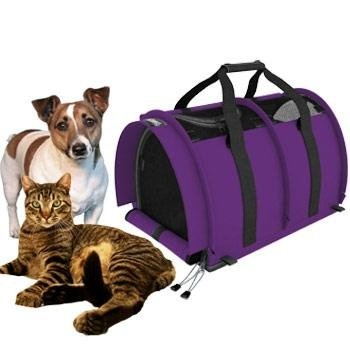 Sturdi Products makes great gear for pets. Their large SturdiBag is plenty  big for most