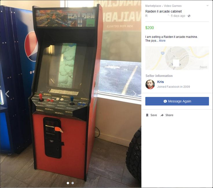 Saw an arcade machine for sale. Always wanted a cabinet but never found one for sale in the desolate area I live. Pull the trigger or nah?