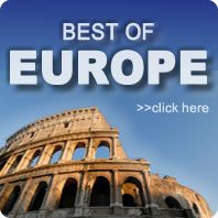 www.europeandestinations.com Great website to book customizable trips to European destinations.  You can enter all the cities you want to go and a budget and it'll set up a trip for you.
