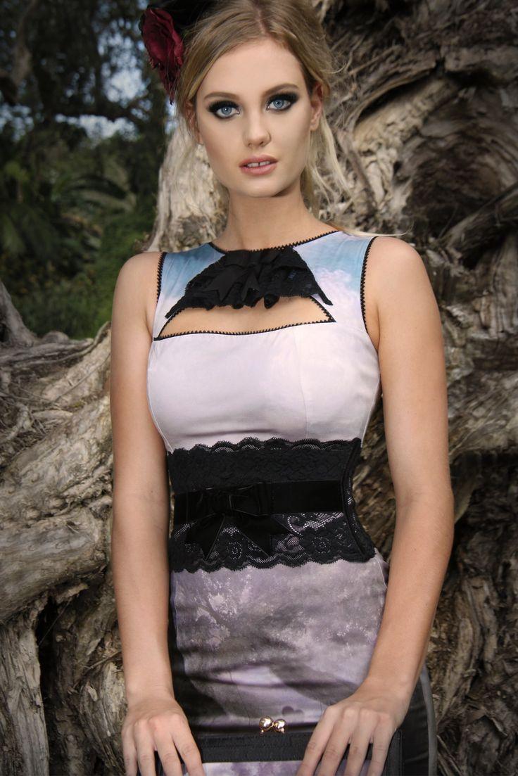 Audrey Corset Belt (Black)
