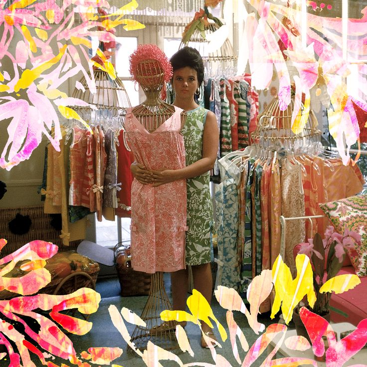 Lilly Pulitzer In Her First Via Mizner On Worth Avenue Palm Beach
