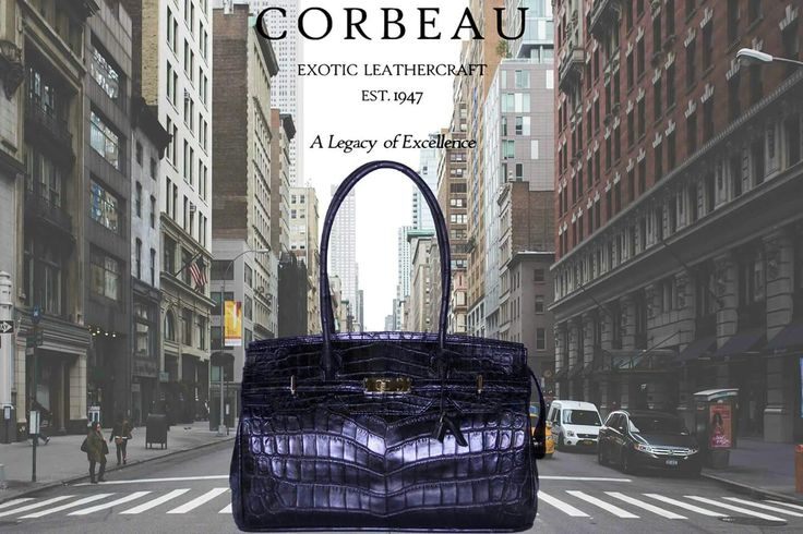 New York Inspired Crocodile Bag <3 <3 An Absolute Must Have....  #CrocodileLeather #Crocodile #Leather #Fashion #NewYork #Trends #Fashion #Style #Love #Power #Black #Simple #Life #Moods #Moments #CityLife