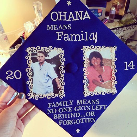 Graduation cap- So I can can carry my parents to graduation with me. RIP <3