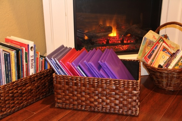 Shower of Roses: Preparing for Advent :: Book Baskets