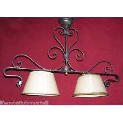 Wrought Iron Chandelier. Customize Realisations. 217