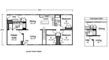 Floor Plans :: Pine Ridge Homes - Custom Modular Homes - Vandalia and Litchfield Illinois