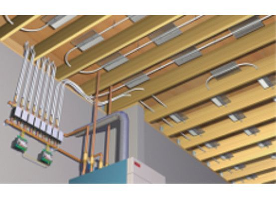 radiant floor heat ultrafin - Radiant Floor Heating