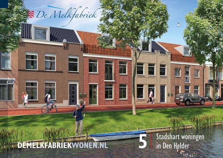 Verkoopbrochure De Melkfabriek - 5 Stadshartwoningen in Den Helder