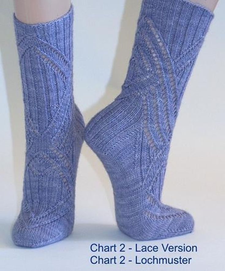 14 sock designs, Patterns in English Knitting patt…
