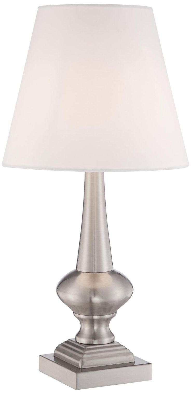 Table lamp touch - Brooks Brushed Steel Finish 19 High Touch Table Lamp