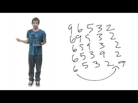 Bubble Sort - YouTube | https://courses.edx.org/courses/HarveyMuddX/CS001x/1T2015/courseware/ddcc30744ff84ec296cc088e078ce954/b7fdcd5543c5475b976d5cbd39c36878/