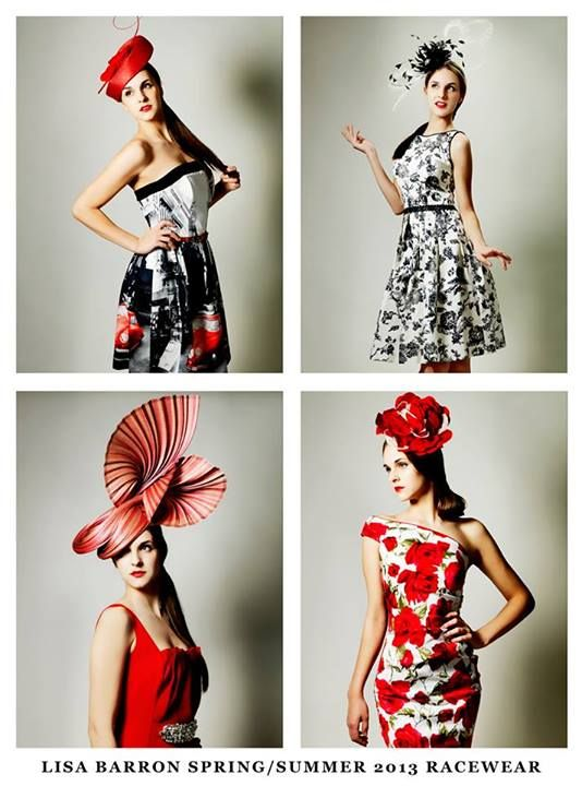Lisa Barron Designer Fashion, via FB Melbourne Racing Carnival is upon us, Caulfield Cup is only 2 weeks away! Don't miss your chance to get a beautiful racewear outfit and Kim Fletcher Hat to match for all your race days...see you in-store soon!