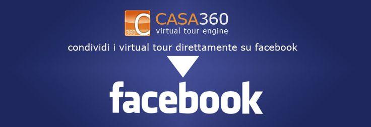 I virtual tour di Casa360 sono perfettamente compatibili e integrati nelle app facebook per iphone e ipad e tutta la serie android e windows phone. Condividi virtual tour sulla tua app facebook.