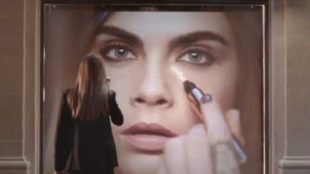 Cara's got talent! Miss Delevingne shows of her modelling AND her drumming skills in new YSL advert