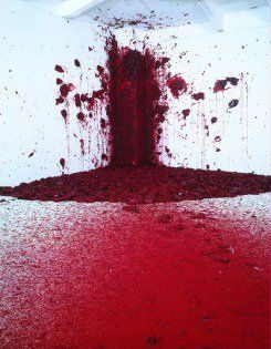 #Anish #Kapoor - #Martin #Gropius #Bau, #Berlin. He has developed a multi-faceted oeuvre using various materials, such as pigment, stone, steel, wax, PVC and high-tech material. In his objects, sculptures and installations the boundaries between painting and sculpture become blurred...