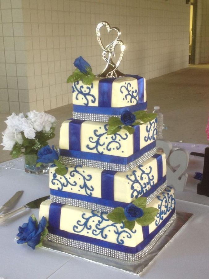 This is only my 3rd large wedding cake.  Did this for a friend in all Butter Pecan.  She loved it!