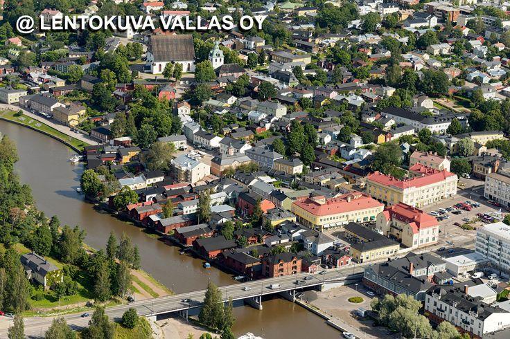 Porvoo, vanha kaupunki Ilmakuva: Lentokuva Vallas Oy