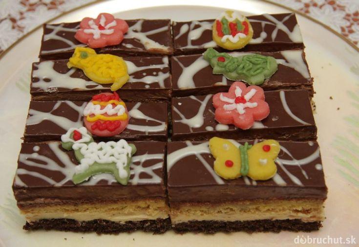 Vanilkovo čokoládové rezy