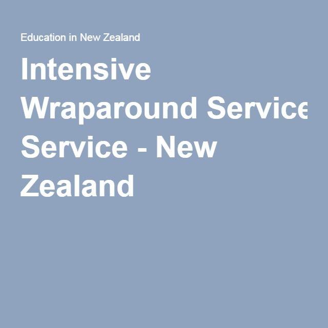 Intensive Wraparound Service - New Zealand