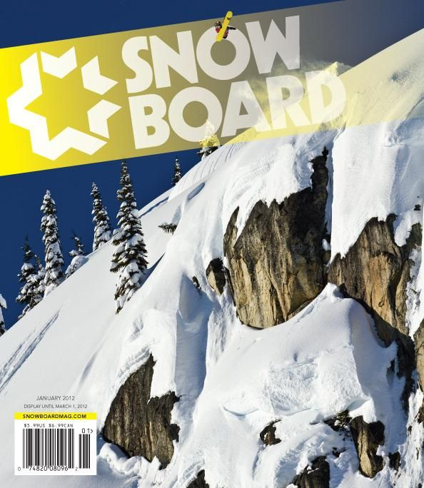 Steal Of The Day:  Snowboard Magazine $20