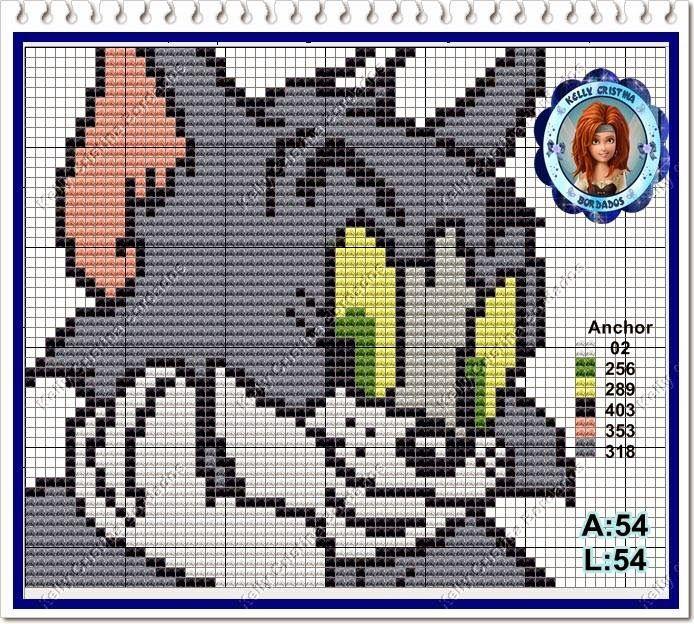 Ângela Bordados: Olha....o Jerry mau chegou e o Tom já está a procura????